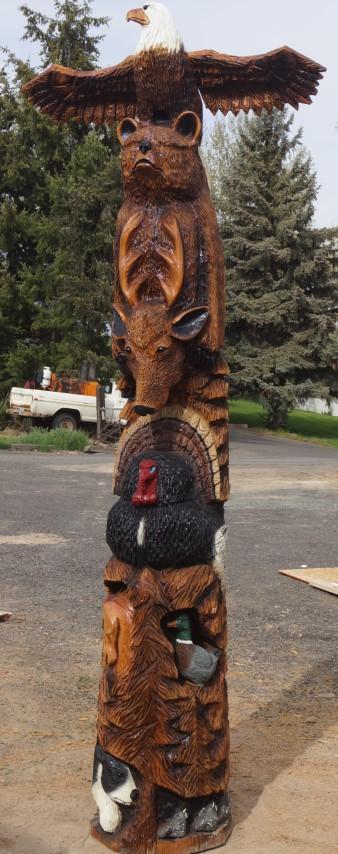 Western Stylized Totem Pole